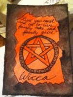 Wiccan MMH card