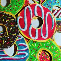 Donut Postcards