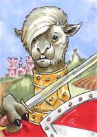 Alpaca Soldier