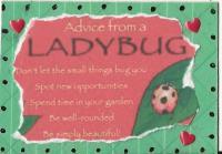Ladybug Advice