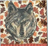 Collage Animal Chunky Page  Wolf