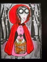 "Theme Jim Burton "" Little Red Riding Hood"""