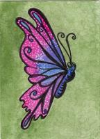 My butterfly for the July contest!