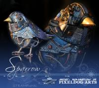 Steampunk Sparrow