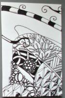 Zentangle PAT: Group 4 - Tangles with Shading