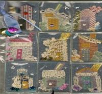 """""""Little Houses"""" for Pocket Letter for Nancy"""