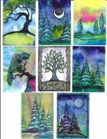 ATCs for Artforall 2011