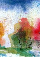 Painted Landscape Swap - Cards