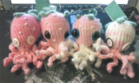 Strawberry Octopods