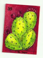 HandDrawn/HandPainted Mexican Loteria