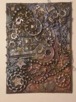 Steampunk Chunky Card