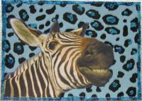 Zealous For Zebras: Blue Cheese