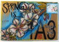 Spring is...  Cardboard 4x6 Swap
