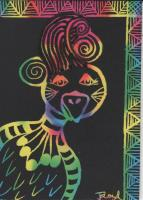 Rainbow Bouffant