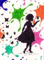 #134 Farbklecks
