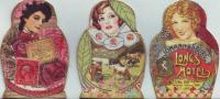 Russian Doll - Matroyshka, Shaped ATCs
