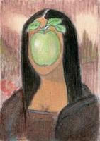 Mona meets Magritte
