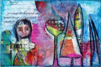 PIF HD/HP/Collage 4X6 Postcard for Darida
