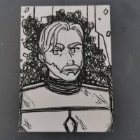 Obi-wan in Mandalorian armor