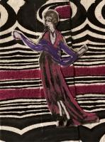 Pink Pattern Dancer