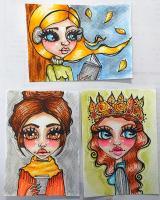 Autumn Whimsical Girls Swap