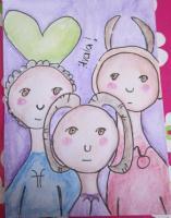 Zodiac girls Pisces, Aries, Taurus