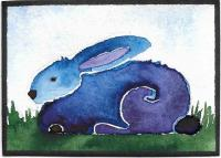 Watercolor bunnies