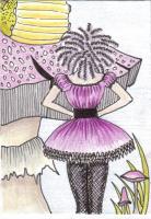 Gothic Alice - Meeting the Caterpillar