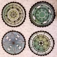 """Mandalas"" #1 thru #4"