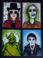 Tim Burton movie characters swap.