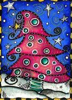 """Whimsical Christmas tree"" November contest"