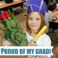 My kindergarten grad!!