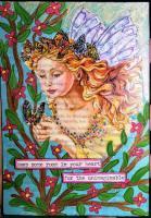 """Fairy Realm"" POSTCARD"