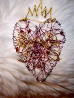 Wire Claddaugh Heart