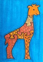 Puzzle giraffe