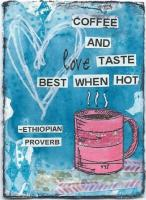 Proverb swap: Coffee Love and Face to Sun