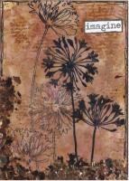 """Imagine"" Alcohol Ink flowers"