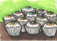 Cupcake eyeballs