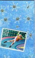 Postage Stamps-Sport  Speed Skating  1000