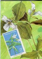 Postage Stamps: Trees and Flowers  Trillium