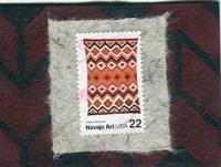 Postage Stamps: Art   Navajo Art #4  968
