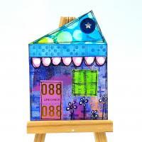 Little Blue House ATC