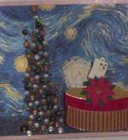 Have a Very Van Gogh Christmas on a starry starry night...