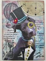 Steampunk Animals Swap Cards