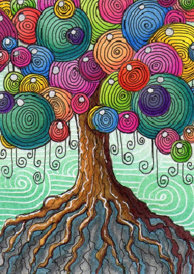 ATCsforALL - Gallery - My Whimsical tree