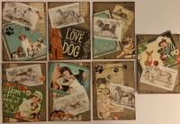 ATC Postage Stamp - DOGS Swap