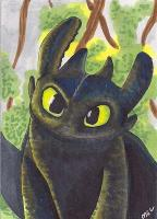 Toothless for hufflepuffish