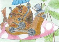 steam punk snail