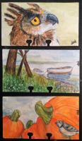 Watercolor rolos