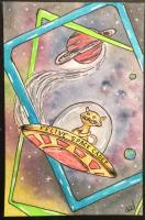 Feline space cadet